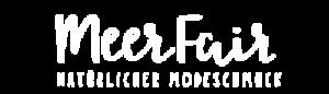 Meerfair Online Shop für Upcycling Schmuck Logo